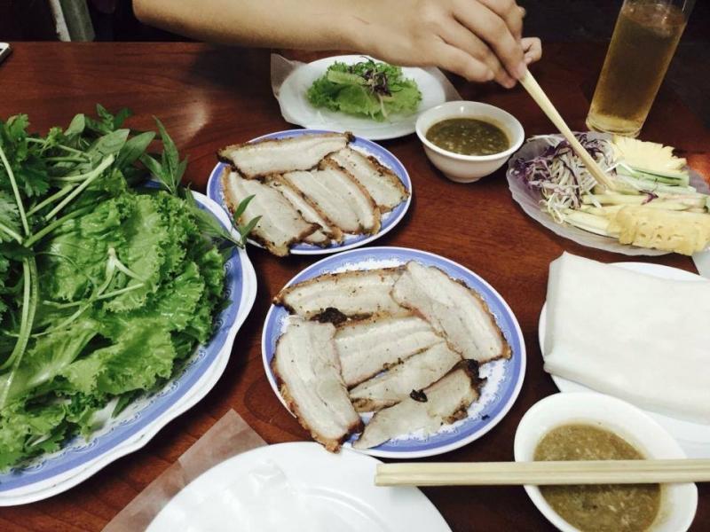 Bánh tráng cuốn thịt heo - Hoàng Bèo - Số 40 Duy Tân, Cầu Giấy
