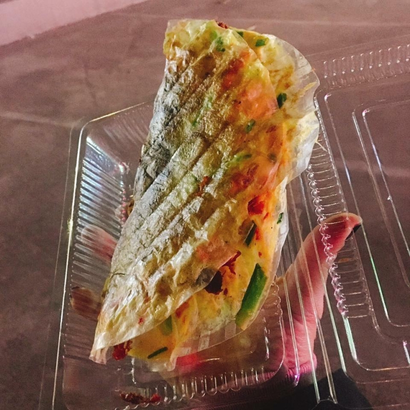 Bánh Tráng Nướng Nhà Chung