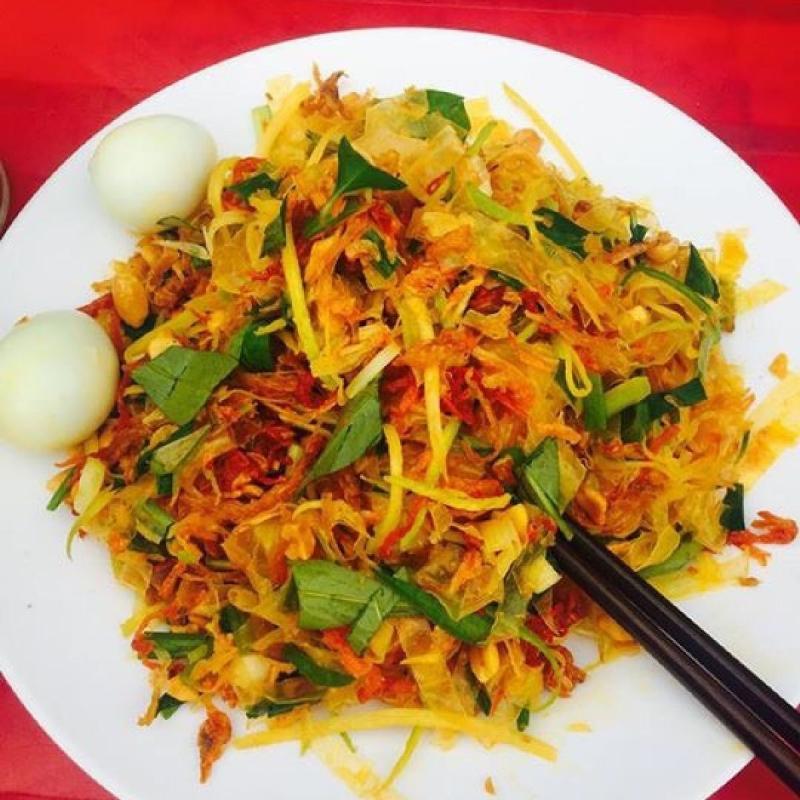 Bánh tráng trộn ngon đúng điệu Sài Gòn