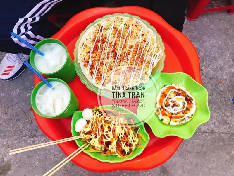 Bánh Tráng Trộn Tina Trần - 33 Chùa Láng