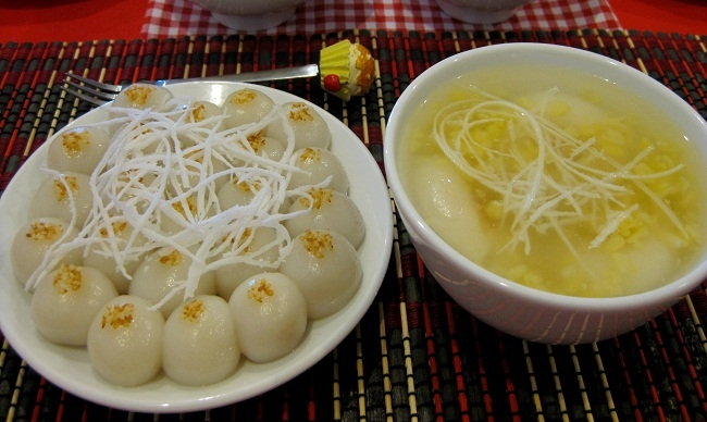 Mùi vị bánh trôi Ninh Bình khiến du khách không thể nào quên.