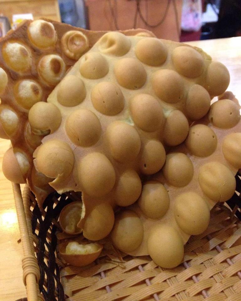 Bánh trứng thơm ngon đầy nhân sẽ khiến bạn vô cùng yêu thích