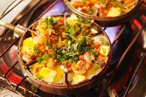 Bánh trứng nướng (20.000 đồng)
