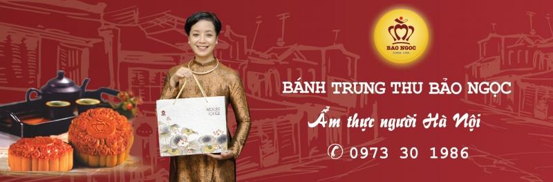 Hình ảnh quảng cáo của bánh trung thu Bảo Ngọc