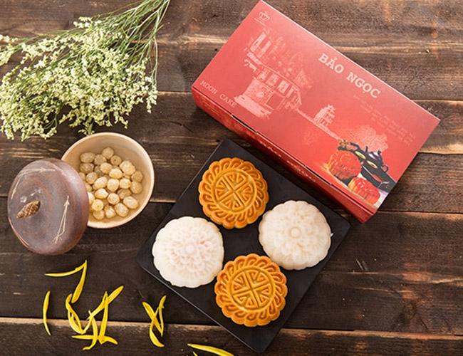 Mẫu sản phẩm của bánh trung thu Bảo Ngọc
