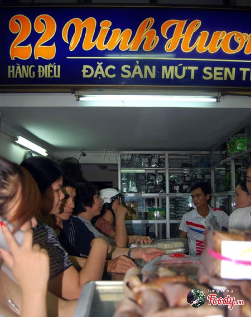 Cửa hàng bánh trung thu Ninh Hương - Hàng Điếu