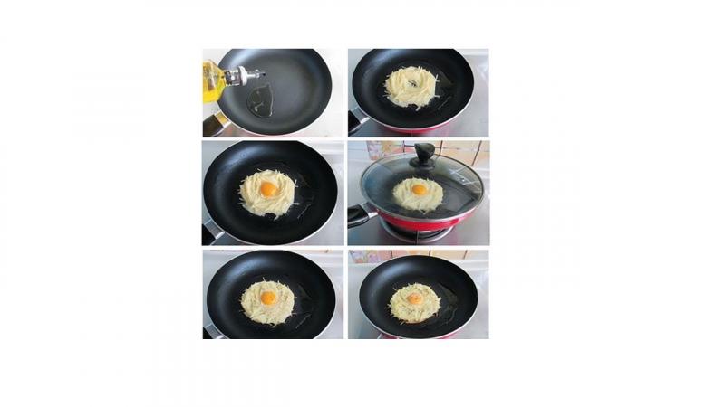 Bánh trứng tổ chim