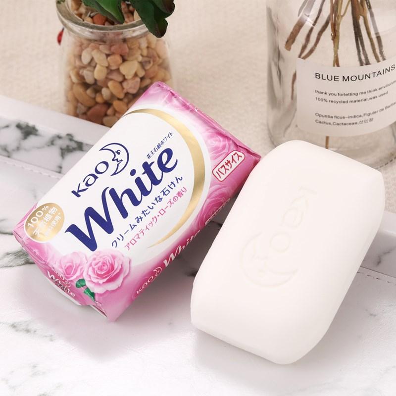 Bánh xà phòng tắm trắng da KAO White Nhật Bản