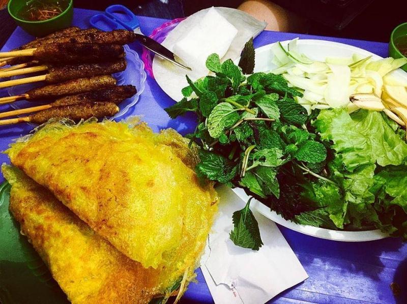 Bánh xèo Bình Định
