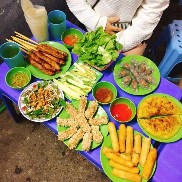 Bánh xèo nem lụi Tạ Quang Bửu
