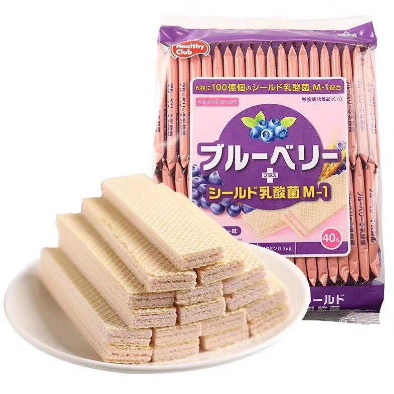 Bánh xốp bổ sung chất xơ vị việt quất