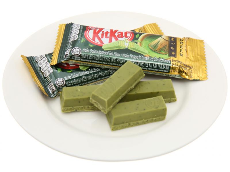 Bánh xốp phủ sô cô la trà xanh Nestlé KitKat