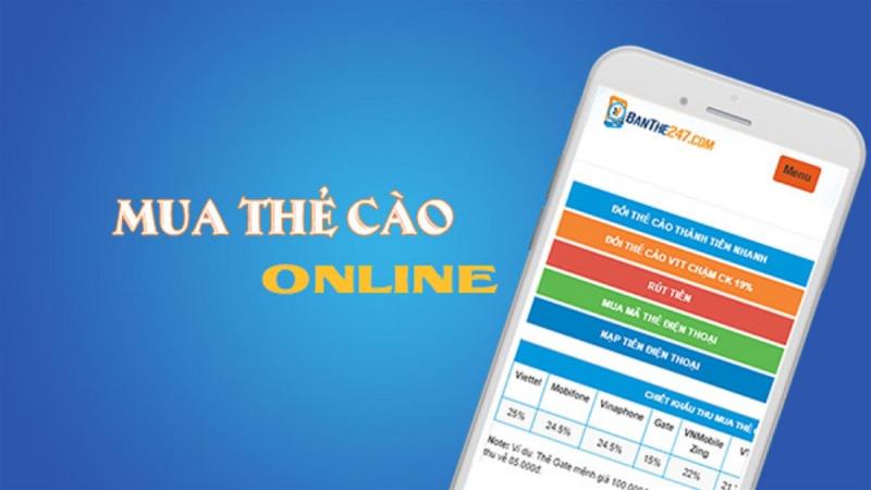 Bán thẻ onlineBanthe247.com là website uy tín chuyên bán thẻ cào điện thoại online, thẻ game