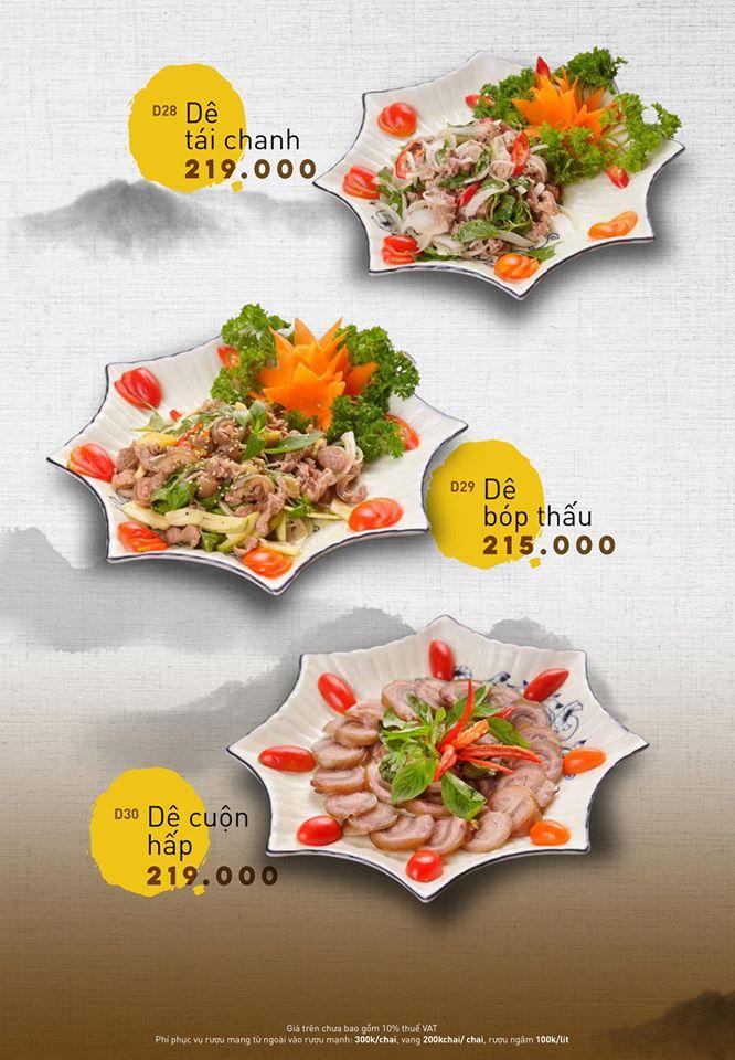 BẢO DƯƠNG VIÊN - Nhà hàng Dê Việt