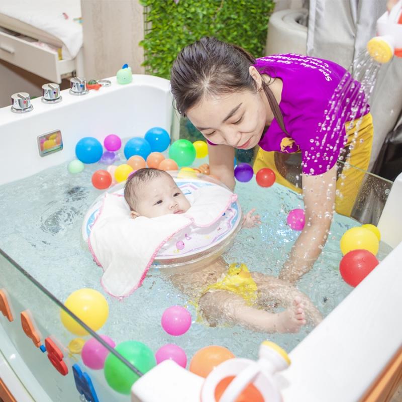 Trải nghiệm dịch vụ Float cho bé tại Bảo Hà Spa