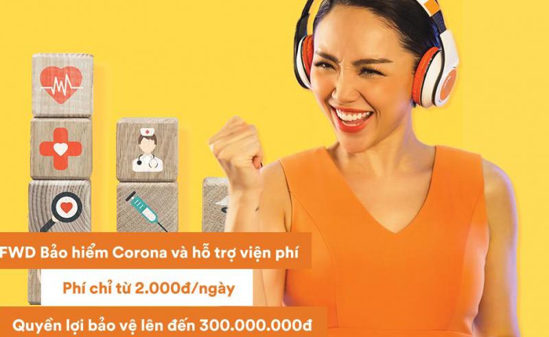 """Với mức phí đóng chỉ từ 2 ngàn đồng/ngày, """"FWD Bảo hiểm Corona và hỗ trợ viện phí"""" đáp ứng nhu cầu đa dạng của khách hàng với 3 sự lựa chọn về số tiền bảo hiểm là 50, 100 và 150 triệu đồng."""