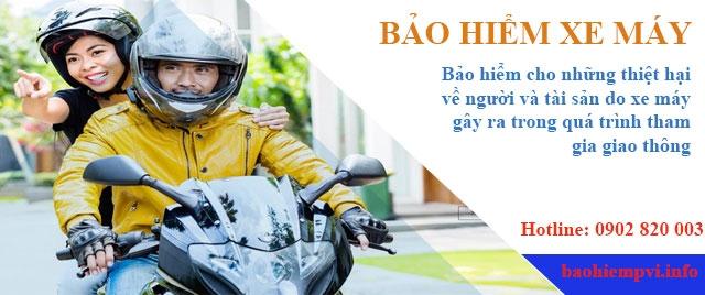 Bảo hiểm xe máy PVI