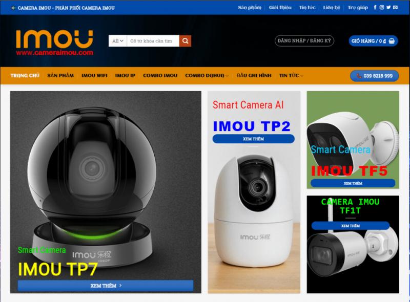 Website bán camera quan sát