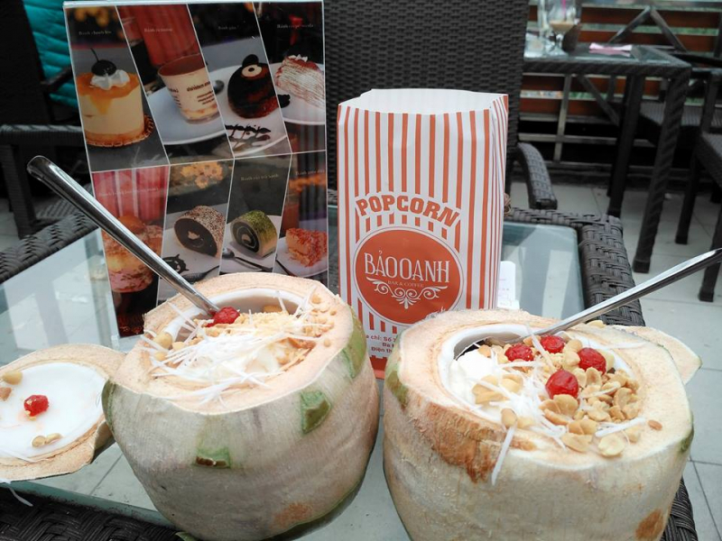 Bảo Oanh Cafe - Kem Dừa