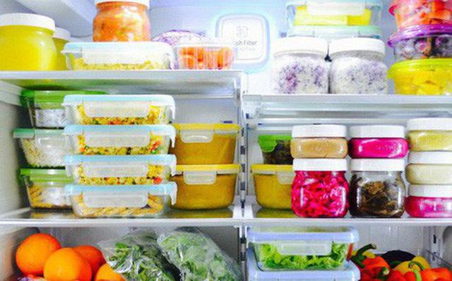 Bảo quản thức ăn đúng cách