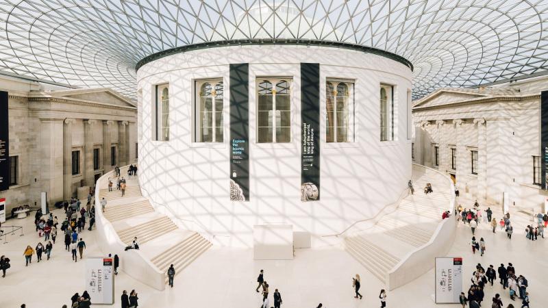 Không gian bên trong của bảo tàng
