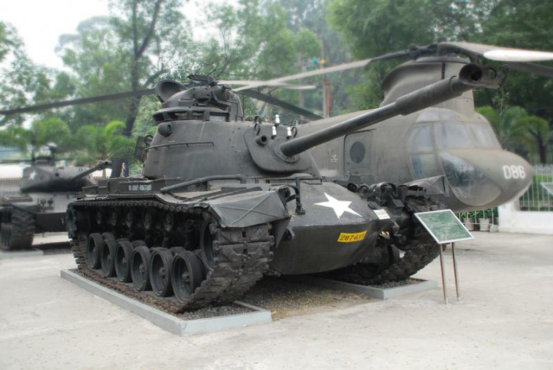 Để tăng cường phương tiện chiến tranh, năm 1970 quân đội Mỹ ồ ạt đưa vào Việt Nam loại xe tăng M.48 và chuyển dần cho quân đội chính quyền Sài gòn cũ