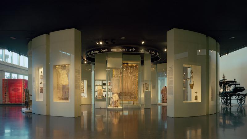 Không gian bên trong bảo tàng Israel