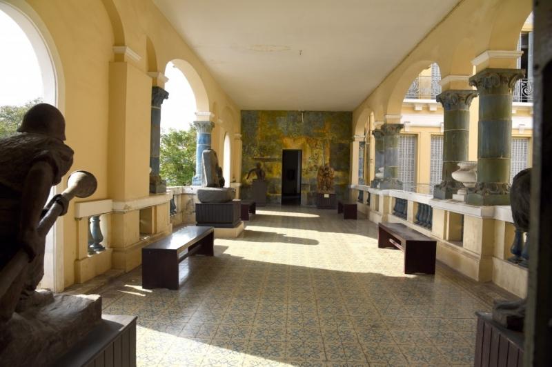 Một góc hành lang
