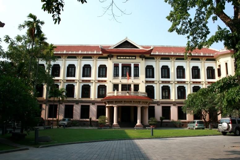 Bảo tàng Mỹ thuật Việt nam (số 66 Nguyễn Thái Học, Ba Đình, Tp.Hà Nội