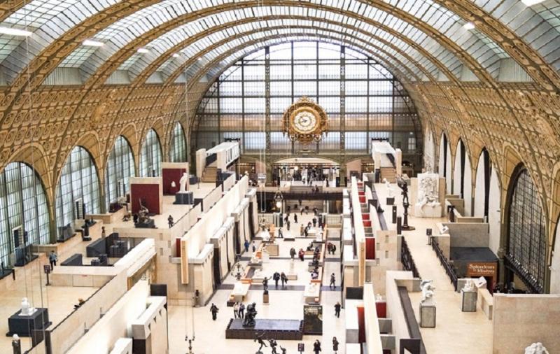 Bảo tàng nghệ thuật quan trọng, lưu giữ những tác phẩm nghệ thuật nổi tiếng của trường phái nghệ thuật ấn tượng và hậu ấn tượng