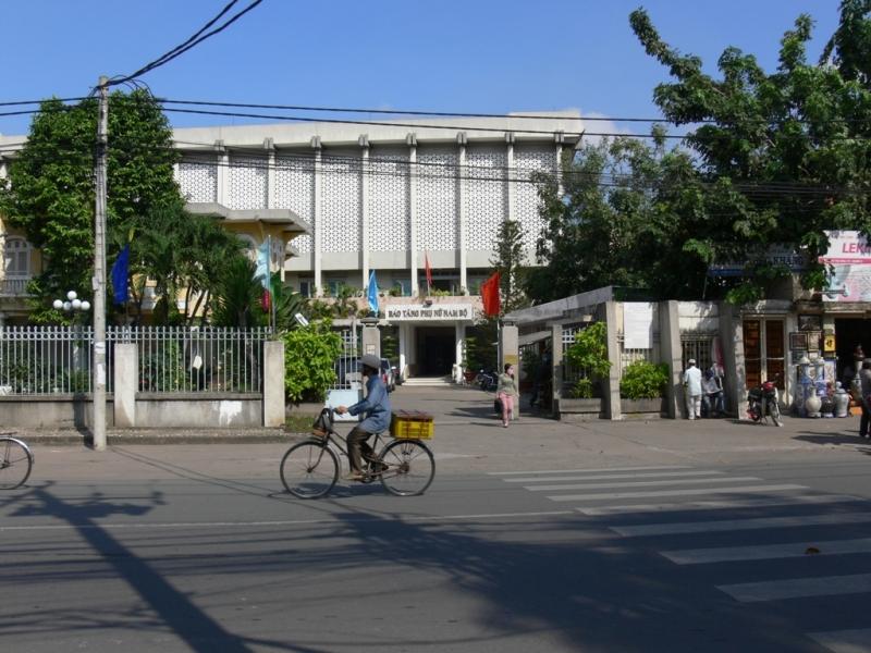 Cổng chính Bảo tàng Phụ nữ Nam bộ (Số 202 Võ Thị Sáu, Phường 7, Quận 3, Tp.Hồ Chí Minh