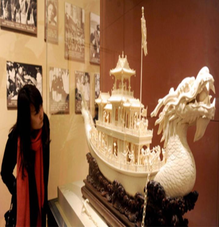 Bên trong bảo tàng Quốc gia Trung Quốc