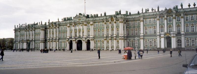 Toàn cảnh bảo tàng Hermitage