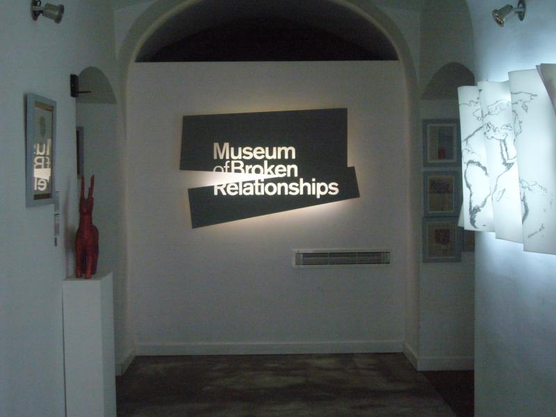 Bảo tàng tình yêu tan vỡ