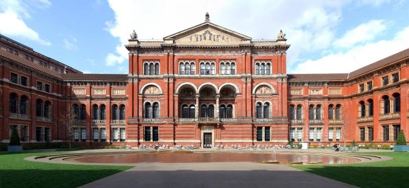 Khuôn viên bảo tàng Victoria và Albert