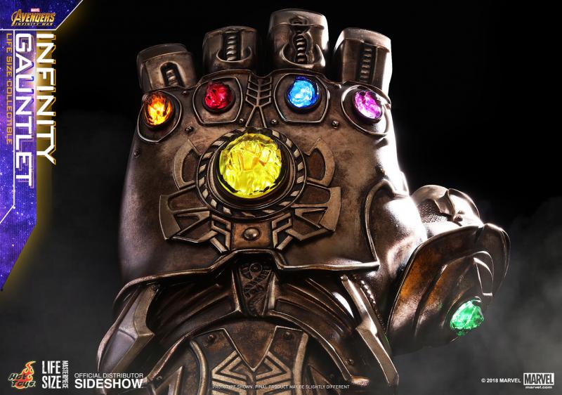 Infinity Gauntlet with Infinity Stones