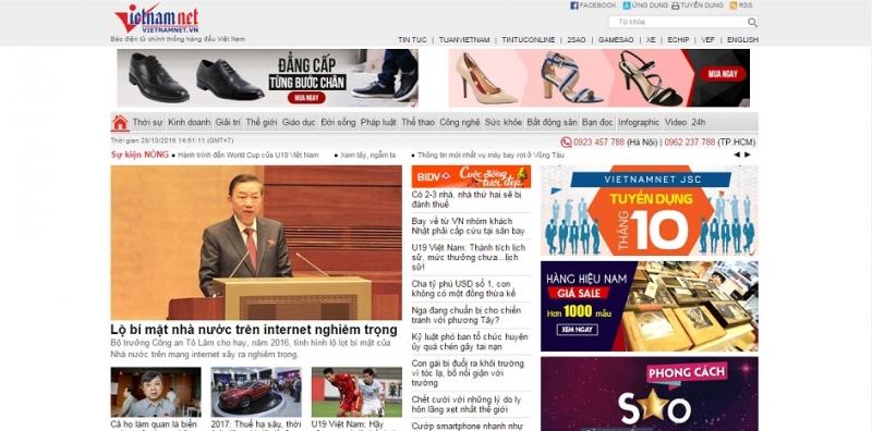 Trang chủ báo Vietnamnet