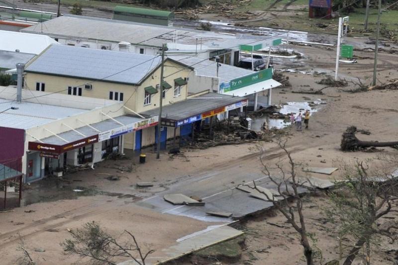 Hậu quả sau bão Yasi tại Úc.