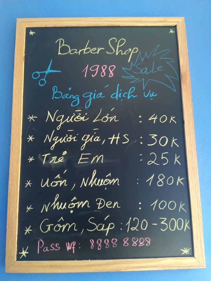 Barber Shop 1988