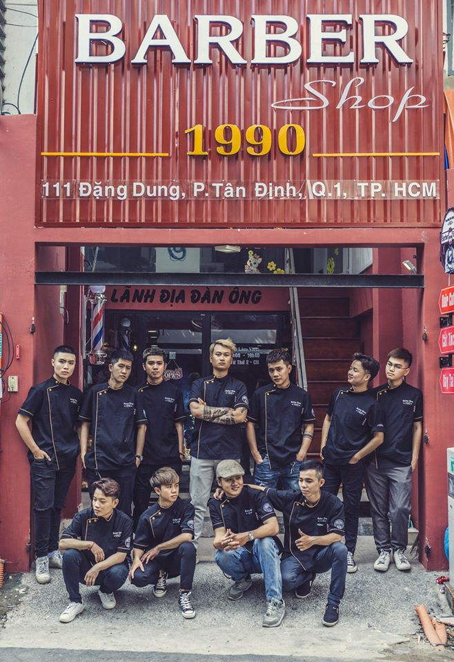 Barber shop 1990