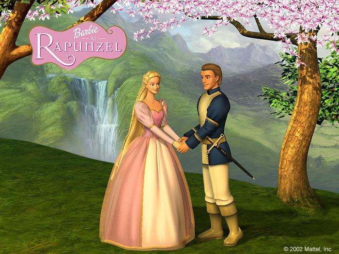 Barbie as Rapunzel - Chuyện tình nàng Rapunzel