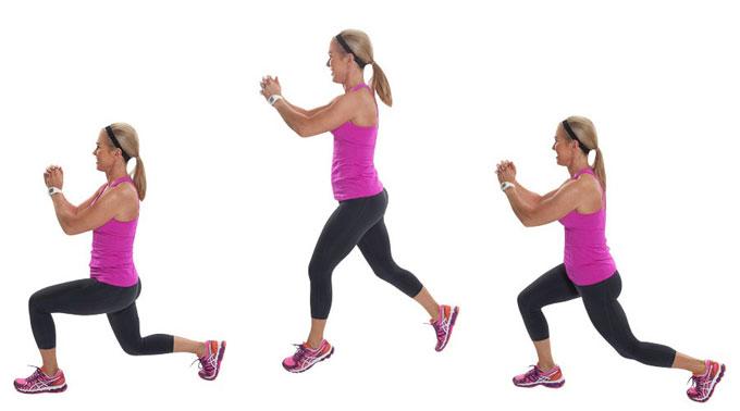 Bật nhảy đổi chân giúp đùi thon gọn