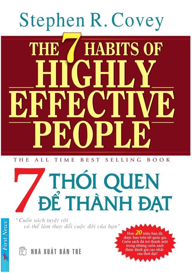 Những thói quen giúp bạn trở thành người thành đạt được đúc kết trong cuốn sách này