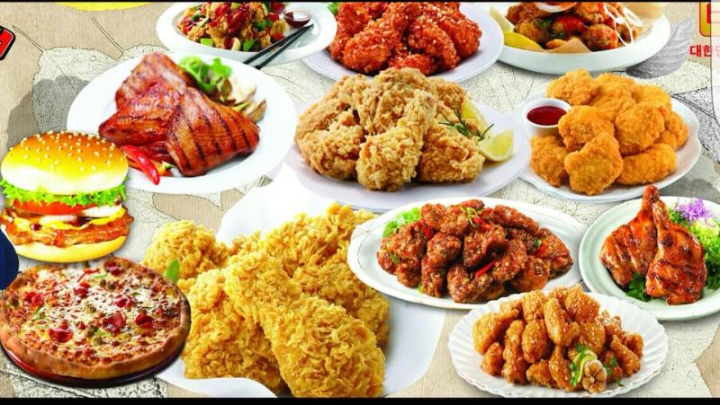 Những món được chế biến từ gà tại đây rất ngon với rất nhiều hương vị đặc biệt