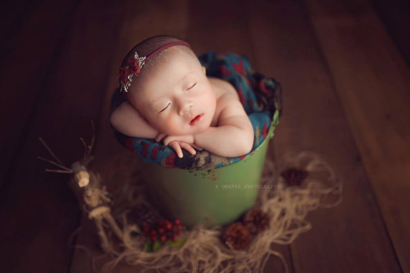 B'Corner Photography - Newborn Nha Trang