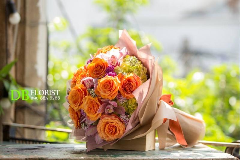 Hoa của BD Florist mang theo sự chuyên nghiệp và thẩm mỹ