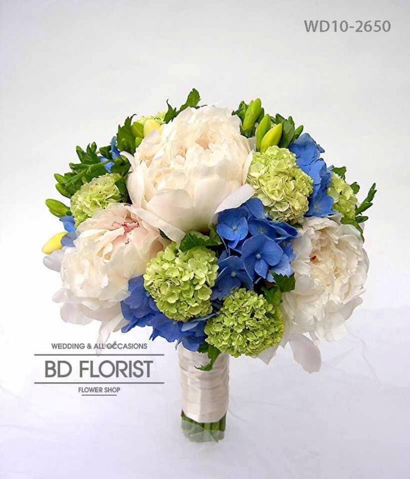 Hoa được thiết kế đẹp mắt ở BD florist
