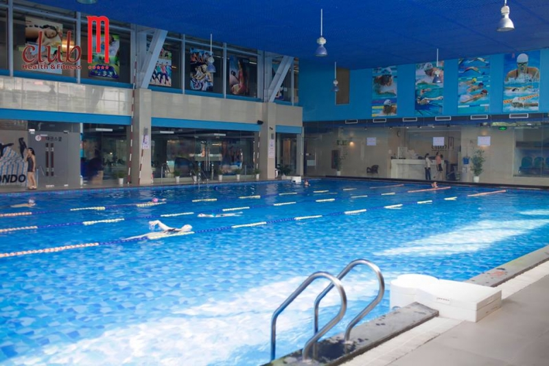Bể bơi bốn mùa Club M là một trong những bể bơi chất lượng cao tại Hà Nội