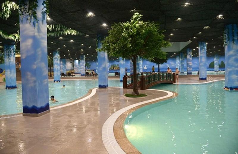 Bể bơi bốn mùa Times City miễn phí vé cho cư dân bên trong khu đô thị