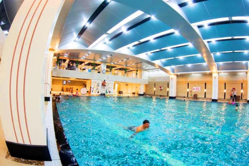 Bể bơi Hapu Swimming Pool tại tầng hầm B1 tòa nhà Hapulico
